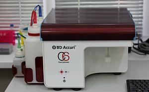Flow-type cytofluorimeter BD AccuriTMC6 (BD Science, USA)